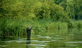 Fishing on the Itchen